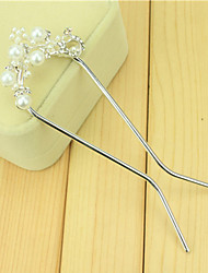 South Korean Hair Combs The Bride Ucomb Hair Clip Size Pearl Double Needle Twist