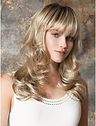 Top Grade Quality Synthetic Golden Wavy Wig