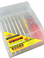 REWIN® TOOL  10Pcs Screwdriver Set Technical Grade with TPR And PP Handle