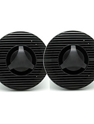 "6.5"" Inch 2 Way Black Waterproof Outdoor Marine Speakers for Marine Boat Outdoor ATV UV-Proof One Pair 120Watts"