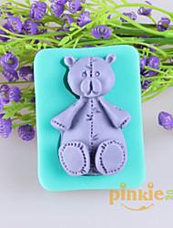 Bear Shaped Fondant Cake Chocolate Silicone Molds,Decoration Tools Bakeware