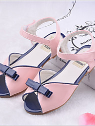 Girls' Shoes Casual Peep Toe  Sandals Pink