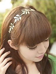 MISSING U Women Alloy Headband , Vintage / Party Silk