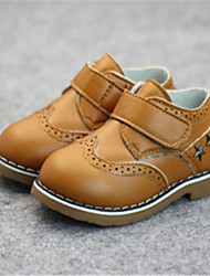Baby Shoes Casual Leather Oxfords Black/Blue/Yellow