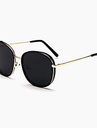 Sunglasses Men / Women / Unisex's Modern / Fashion Oval Black / Leopard / Transparent Sunglasses Full-Rim