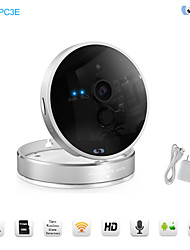 PTZ IP Night Vision Surveillance Camera 720P Alarm Detectors Motion Detection Wireless