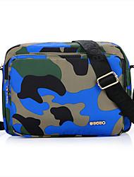 Men 's Nylon Messenger Shoulder Bag - Blue/Green/Orange/Red