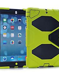antichoc récent cas de dirtproof coquille imperméable + clip ceinture pour iPad air (couleurs assorties)