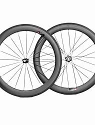 Weight 1748g Full Toray T700 Carbon 700C Road Bike 50C Clincher Carbon Wheel 23mm Width 50mm Depth