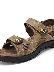 Chaussures Hommes - Extérieure - Marron / Kaki - Cuir - Sandales