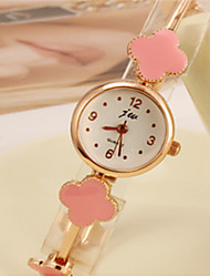 Woman's Four Leaf Clover Wrist Watch