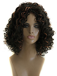 Europe And The United States Fashion Style Three Ladies Small Curl Hair Wigs
