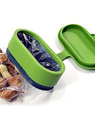 Oval Shaped Bag Cap Kitchen Lid Food Sealing Buckle (Random Color)