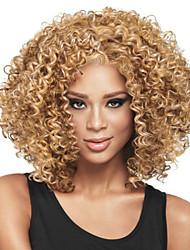 European And American Black Women Fashion Caps Short Curl Hair #613.27