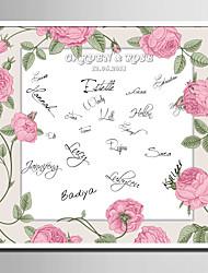 Signatur Rahmen & Platten ( Weiß ) - Garten Thema