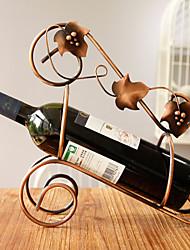 armature en fer forgé du vin