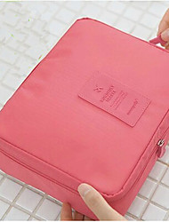 Fashion Lady Travel Cosmetic Make Up Toiletry Holder Beauty Wash Organizer Storage Purse Bag Monopoly Pouch