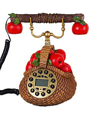 Novelty Rural Fashion Home Decoration Basket Antique Telephone