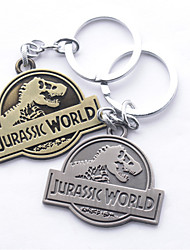 Fashion Jewelry Alloy Cosplay Jurassic World Pendant Key Chain Key Rings Key Buckle