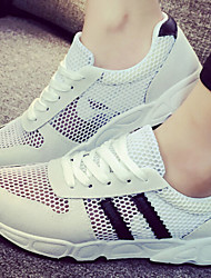 Women's Shoes  Breathe Freely Wire Side Fabric Low Heel Comfort Fashion Sneakers Outdoor/Casual Black/Pink/White/Gray