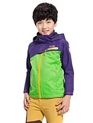Makino Boy's/Gril's Hooded Waterproof Fleece Jacket 1246-3