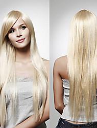 Capless Silk Straight Hair 100% Imported heat-resistant Fiber Hair Wig