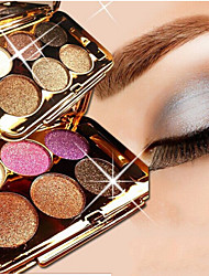 6 Color Shimmer Eye Shadow No.1-6(Assorted Colors)