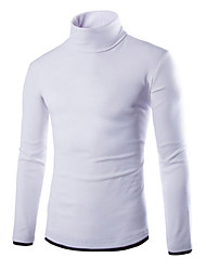 Men's High Collar Sweater Bottoming