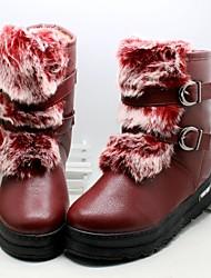 MEISJE - Modieuze laarzen - Laarzen ( Bruin / Rood )