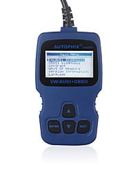 autophix ferramenta de diagnóstico ® vag pro + obd2 obdii do scanner vag007 profissional - VW Seat Skoda audi