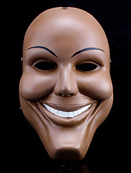 Cool The Purge Cosplay Smiling Face Mask Halloween Props For Halloween Party 1 PC
