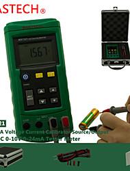 MASTECH tension ms7221- courant mètre - source de signal 10V tension 24mA source de signal de courant