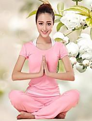 Yoga Sets de Prendas/Trajes Pantalones + Tops Transpirable Eslático Ropa deportiva Mujer - Otros Yoga / Fitness