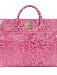 Kate&Co.® Women's Fashion Classic Crocodile Grain Laptop Bag briefcase