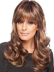 Новая мода леди волосы popularnylon вьющимися волосами парик может быть очень жарко может быть окрашена цветное изображение