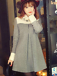 Women's Wool Winter Skirt Ladies Temperament