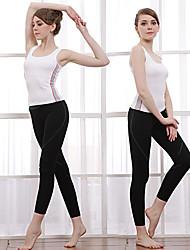 Outros Mulheres Ioga Ternos Manga Curta Materiais Leves Others Ioga / Pilates / Fitness / Esportes Relaxantes / Corrida M / L / XL