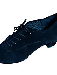 Мужская обувь - Ткань - Номера Настраиваемый ( Черный ) - Латино