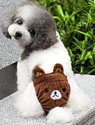 Gatos / Perros Disfraces / Accesorios / Pantalones Amarillo / Marrón / Rosado Ropa para Perro Primavera/Otoño CaricaturasBoda / Cosplay /