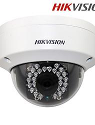 visión hikvision® ds-2cd3145f-i H.265 4.0 megapíxeles 1440p cámara IP domo antivandálica con ranura para tarjeta poe / sd / noche