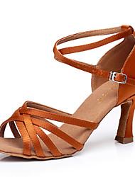 Sapatos de Dança ( Preto / Azul / Castanho / Vermelho / Outro ) - Mulheres - Não Personalizável -Latim / Sapatilhas de Dança / Moderno /