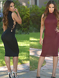 Xing Yu Woman'S Sexy Tight Dress Pierced The Side