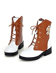 leather Ladies Boots Women's Shoes 00005