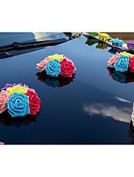 Decorações ( Rosa / Verde , Cetim / Cetim Elástico ) - de Rosas