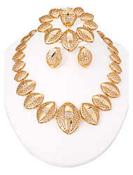 WesternRain Gold Plated African Jewelry Sets 18k Original Classic Fashion Jewelry For Women bijouterie Alloy jewelry