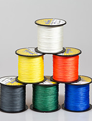 Seanlure 300M 4 Stands PE Braided Line 17-126LB