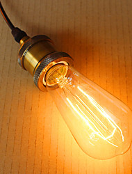 ST64 Foliage Edison Light Bulbs 220V-240V E26-E27 40W Edison Bulb