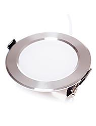 7W Downlight de LED Encaixe Embutido SMD 5630 500 lm Branco Quente / Branco Frio Regulável AC 220-240 V 4 pçs