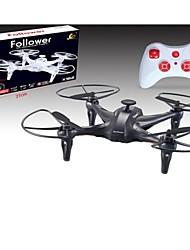2015 x162 suiveur drone rc 4 canaux 2.4g rc drone avec le retour d'une seule touche