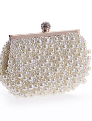 Women Imitation Pearl Formal Event/Party Wedding Shoulder Bag Clutch